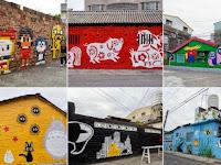 Unik, Dinding Rumah di Desa Ini Berubah Menjadi Lukisan Mural