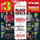 JC Penney 2015 Black Friday Ad: $500 Coupon Giveaway On Thanksgiving