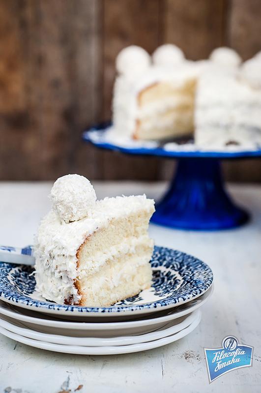 Przepis na tort kokosowy