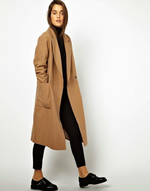 large camel coat