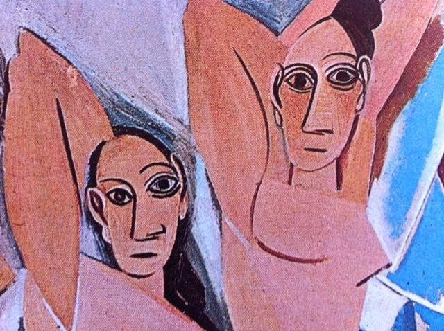 les demoiselles d avignon essay Compare and contrast between pablo picasso's les demoiselles essay  although picasso's la damoiselle's d' avignon and.