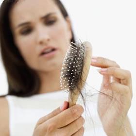 Woman Hair Fall