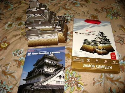 модель Японский замок Химедзи