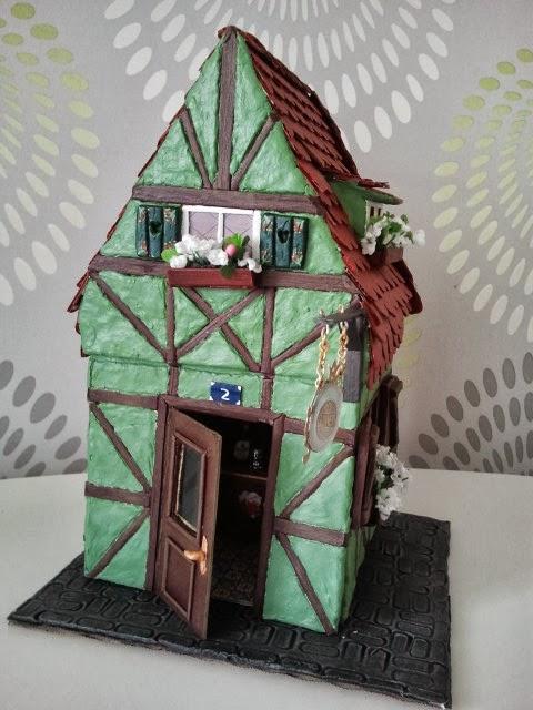 Las manualidades de kutxifritina septiembre 2013 - Como hacer casas en miniatura ...