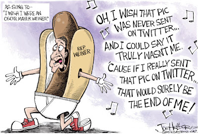 Joe Heller Anthony Weiner Political Cartoon