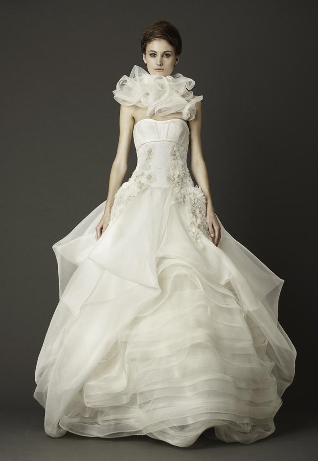 Collection robes de mari e vera wang 2013 tout pour mon for Collection de robe de mariage vera wang
