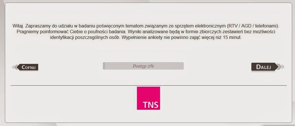 TNS zarabinie naypełnianiu ankiet w domu dzieląc się opiniami na forum i blogach