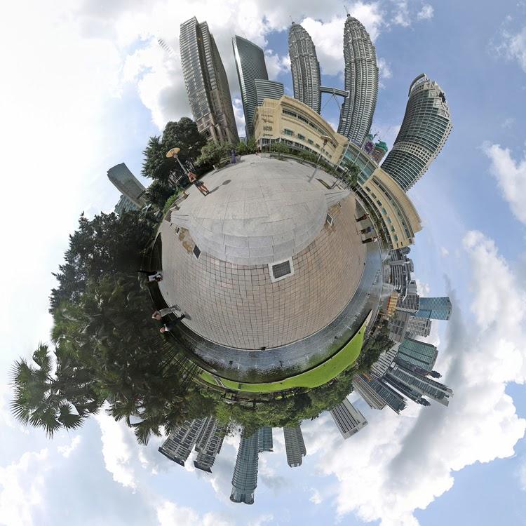 Little Planet Petronas Twin Towers Kuala Lompur