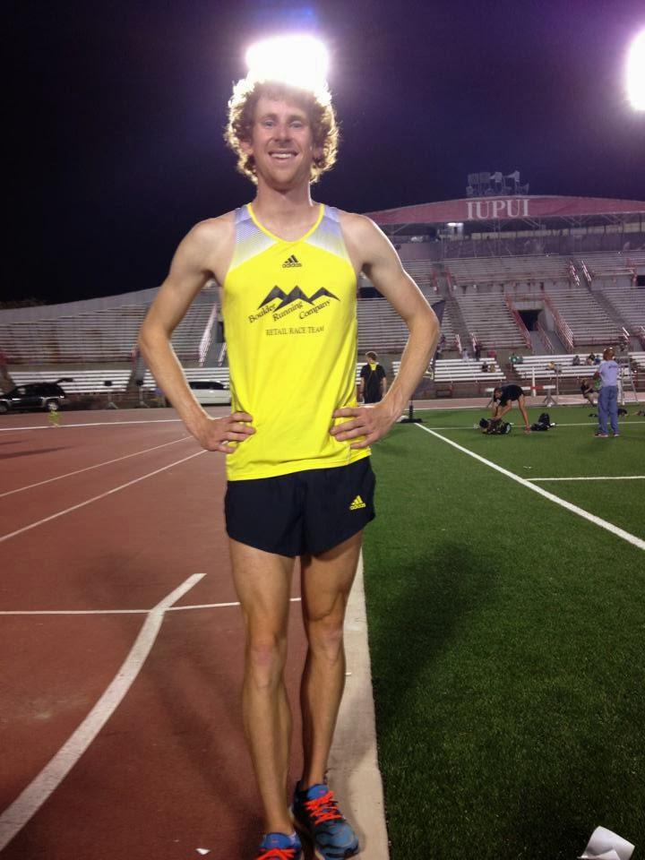 Mack McClain USA 1500m Championships