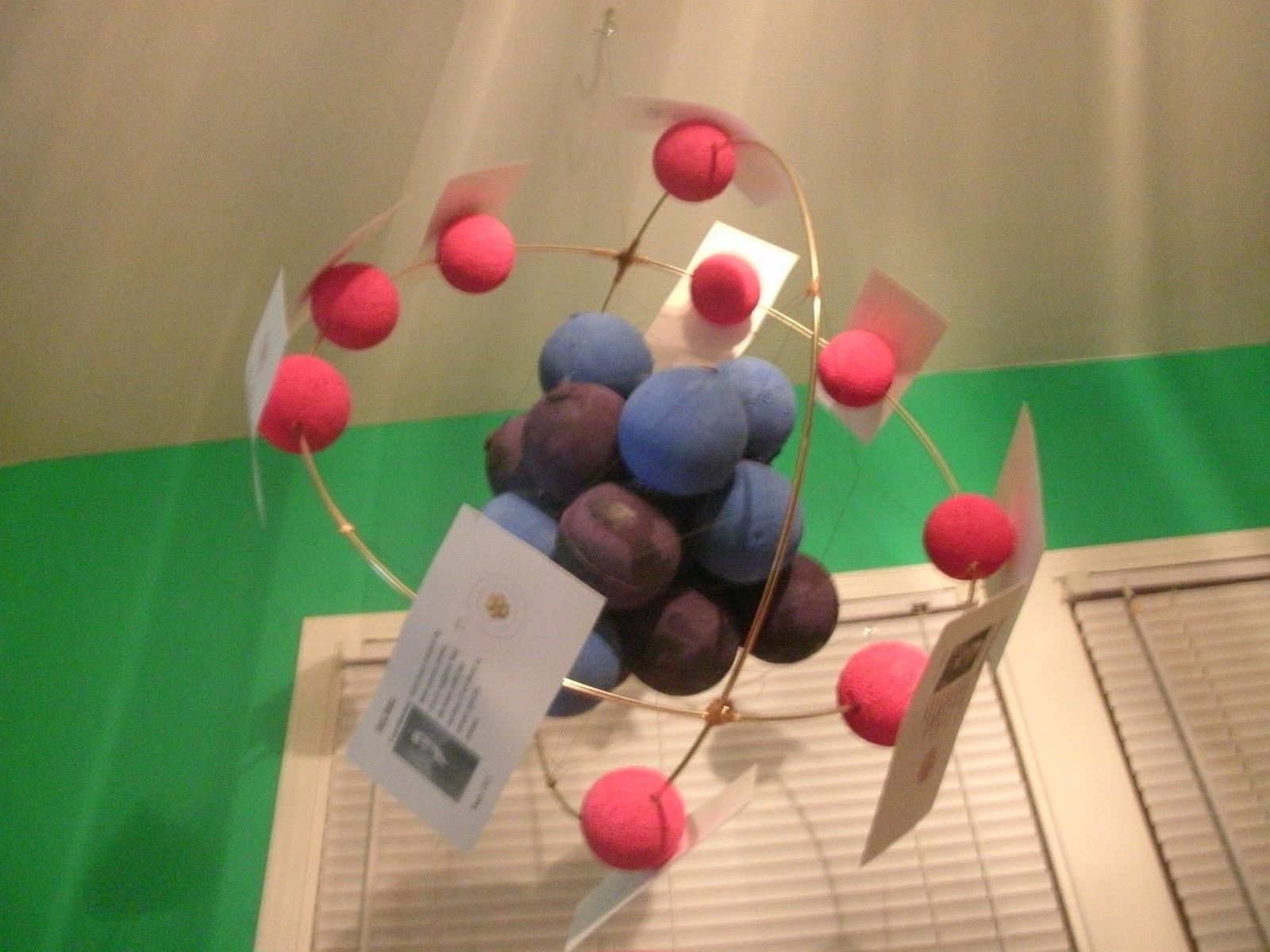 Nitrogen Model Project 3d Neon Atom Model Project