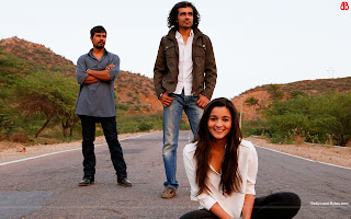 Hot Alia Bhatt, Randeep Hooda, Imtiaz Ali Wallpaper