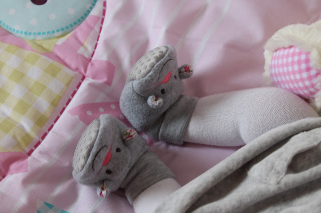 Mothercare mouse booties