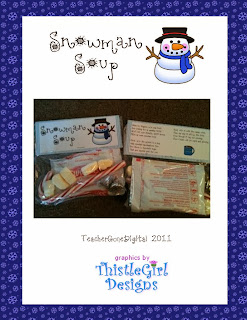 http://www.teacherspayteachers.com/Product/Snowman-Soup-Goodie-Bag-Topper-298100