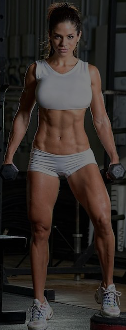 Michelle Lewin Workout And Diet Plans - Body Building Wide