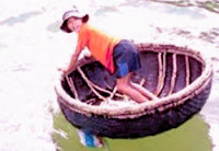 Barco pesquero redondo Thung Chai - Vietnam