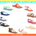 Wardrobe Wednesday // Comfy Colorful Flat Sandals