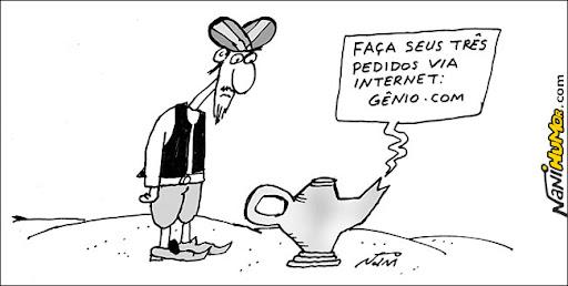 cartum. genio da lampada