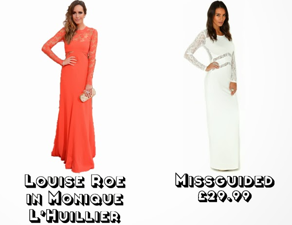 Steal Her style golden globes 2014  get the look red carpet fashion louise roe monique l'huillier missguided