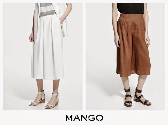 propuestas culottes mango