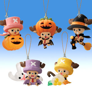 2011 Halloween One Piece Chopper Mascot Figures