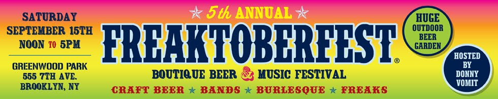 FREAKTOBERFEST BOUTIQUE BEER &amp; MUSIC FESTIVAL