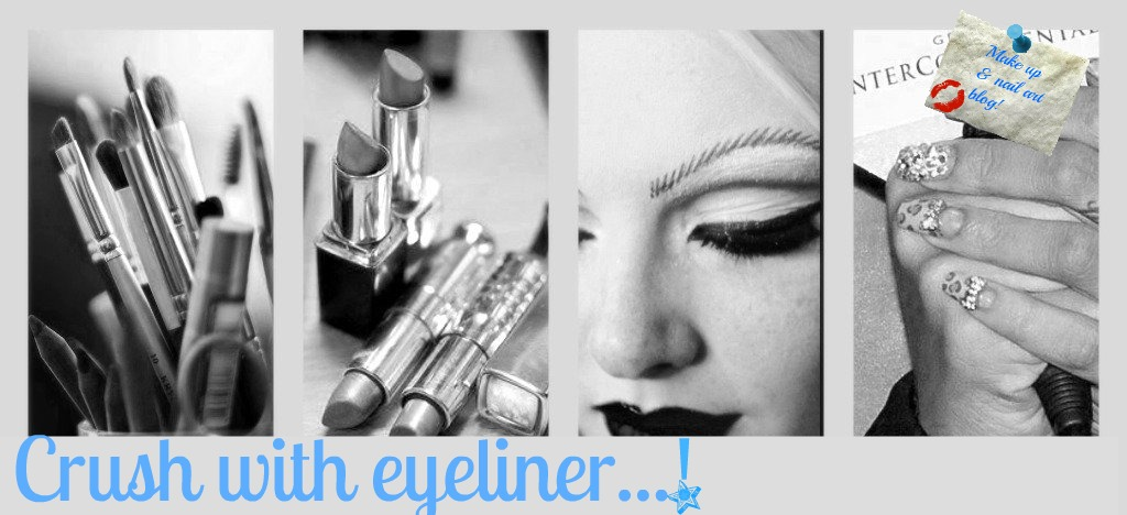 Crush with eyeliner....