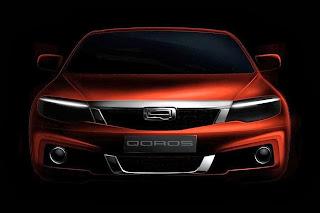 Qoros 3 New Model (2014 Rendering) Front