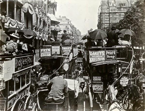 Винтажные фотографии Лондона времен Шерлока Холмса