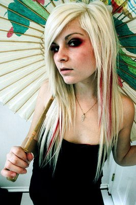 Hairstyles Popular 2012 Blonde Emo Hairstyles Wallpapers