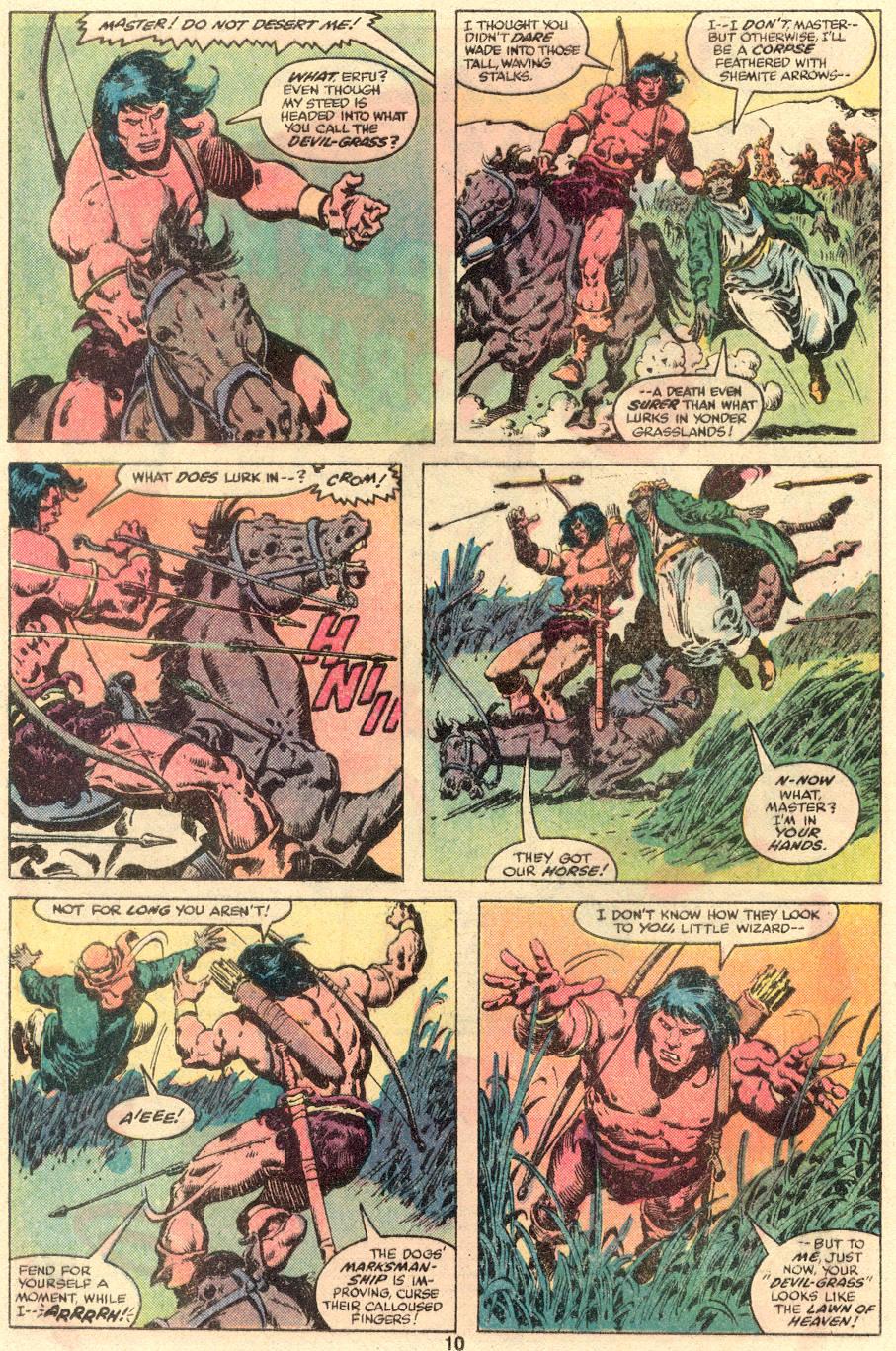 Conan the Barbarian (1970) Issue #109 #121 - English 7
