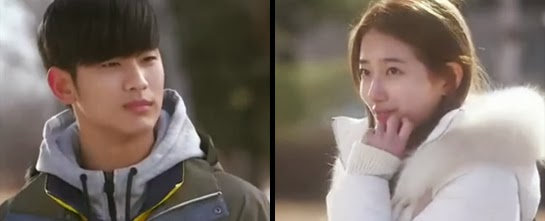 Do Min Joon runs into Suzy 수지 who says he looks just like her old boyfriend, Sam Dong.