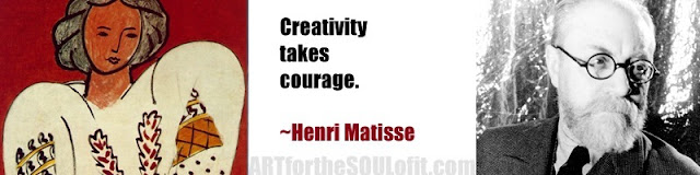 henri matisse quote creativity takes courage...