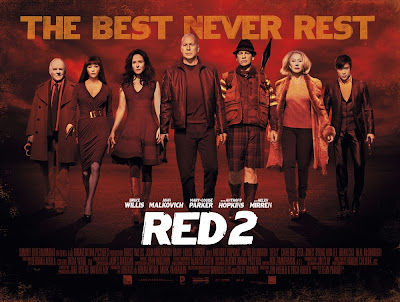 Red 2 Banenr Poster