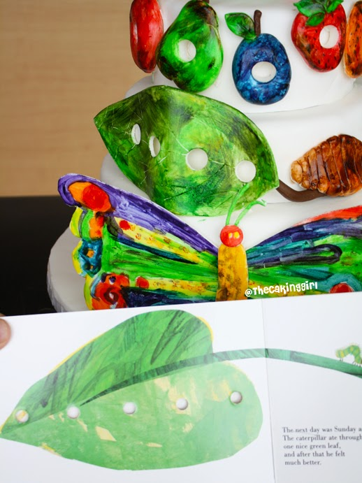 cute hungry caterpillar cake eric carle