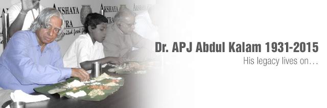 Abdul Kalam at Akshaya Patra