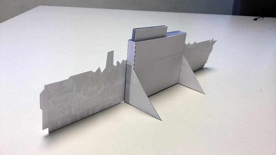 2014 Robots Calendar Papercraft