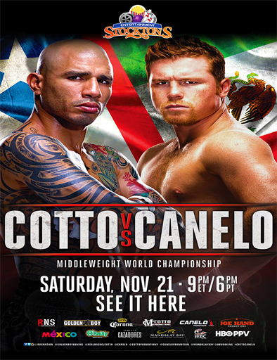 Miguel Cotto vs Canelo Alvarez