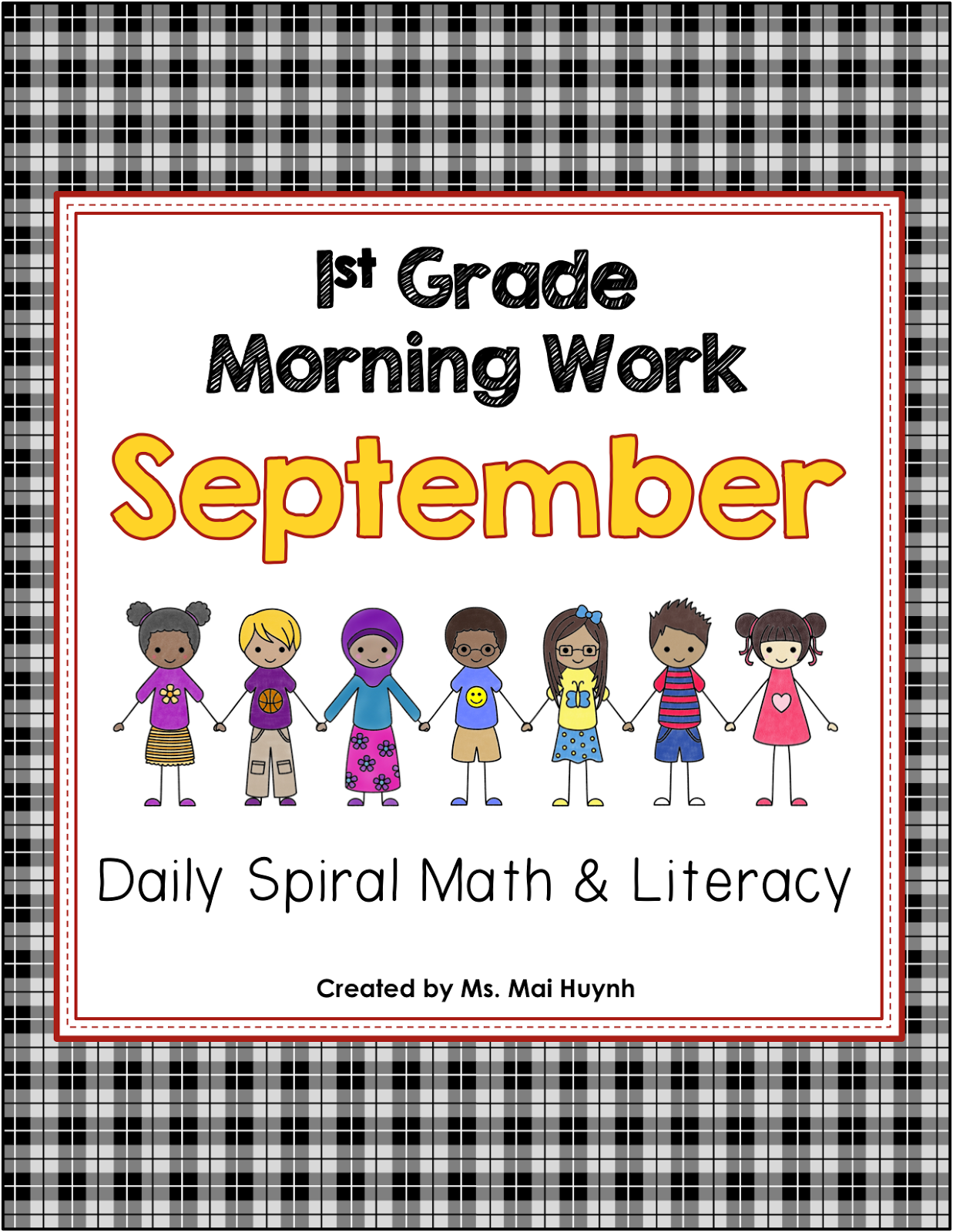 http://www.teacherspayteachers.com/Product/1st-Grade-Morning-Work-1410012