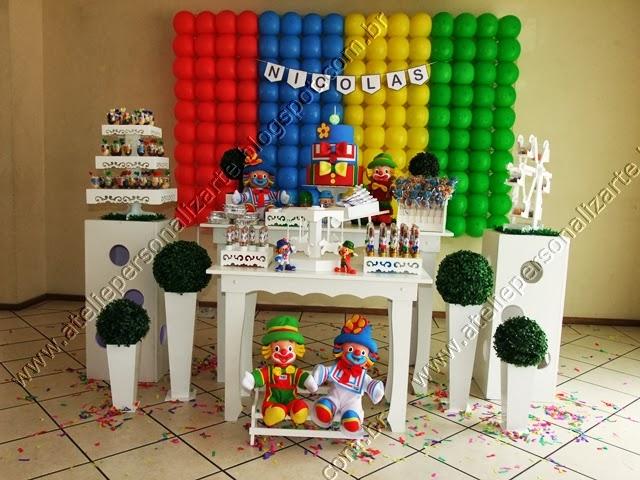 decoracao festa aniversario infantil patati patata