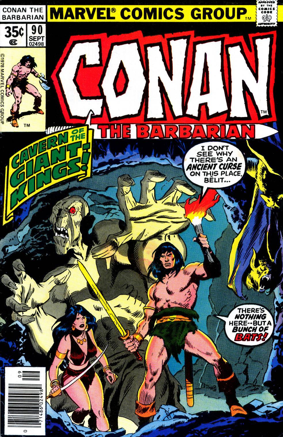 Conan the Barbarian (1970) 90 Page 1