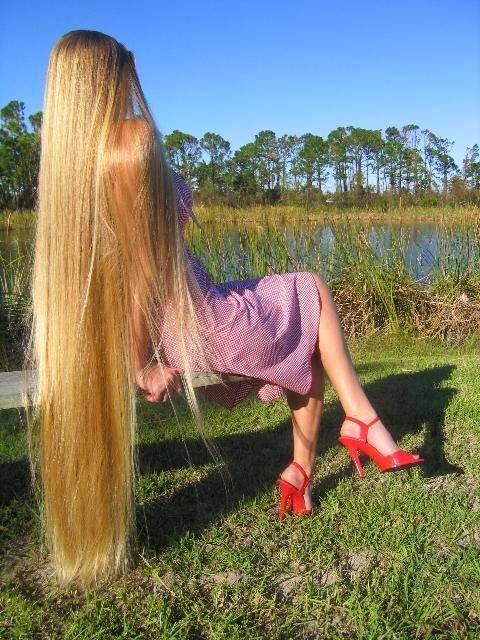 شاهد بالصور: فتيات يمتلكن أطول شعر في العالم !