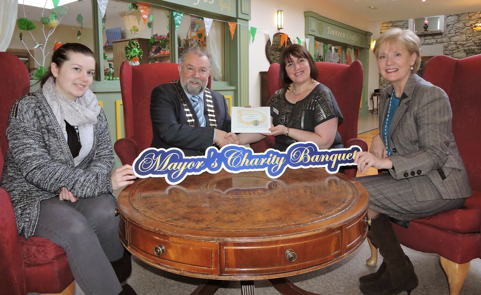 Mayor's Charity Banquet raises €24,760
