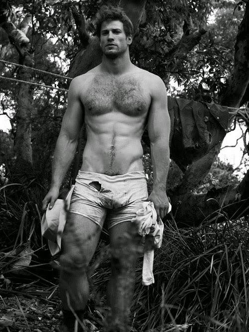Rugged Handsome Naked Men