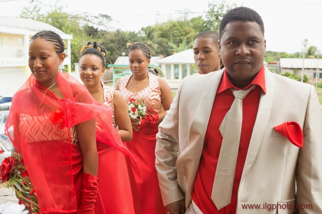Mariage de Steffy et Manuel: le cortège