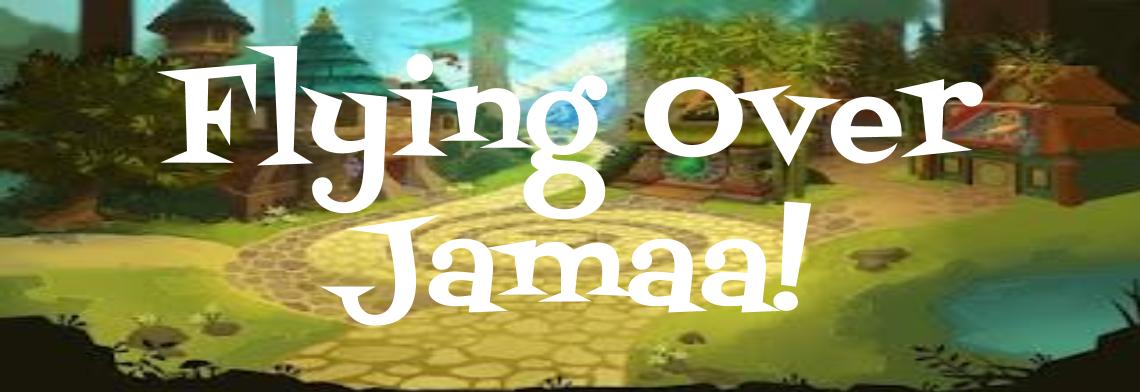 Flying Over Jamaa