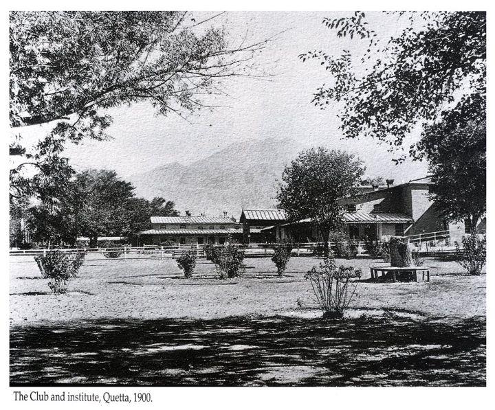 Wallpaper Backgrounds: Historical places of Pakistan, Quetta Gymkhana 5 Wallpaper