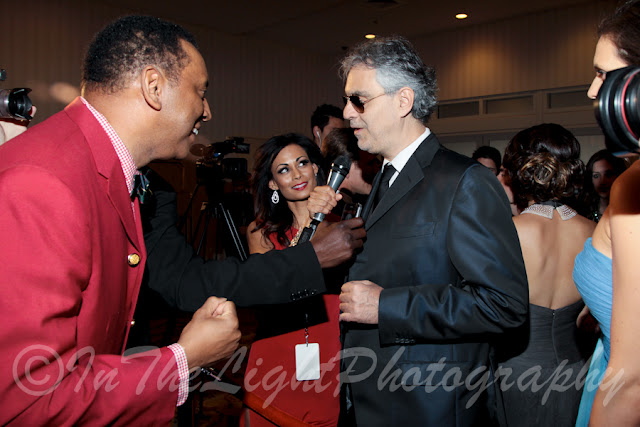 Celebrity Fight Night 2013 Red Carpet Andrea Bocelli