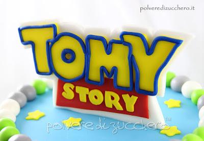 polvere di zucchero torte decorate compleanno pasta di zucchero cake design disney toy story