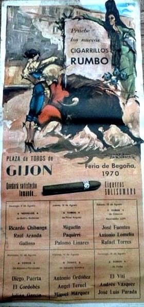 gijon toros 1970