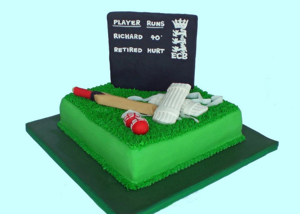 Themed Cakes, Birthday Cakes, Wedding Cakes: Cricket ...